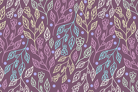 Print on Demand: Beautiful Floral Seamless Pattern Graphic Patterns By Kotak Kuning Studio