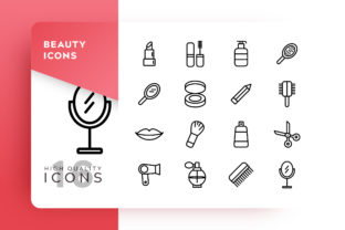 Beauty Icon Pack Graphic By Goodware.Std