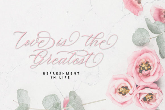 Print on Demand: Beauty Moon Script Script & Handwritten Font By Zane Studio - Image 10