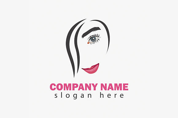 Download Free Beauty Face Care Vector Logo Graphic By Rohmar Creative Fabrica for Cricut Explore, Silhouette and other cutting machines.