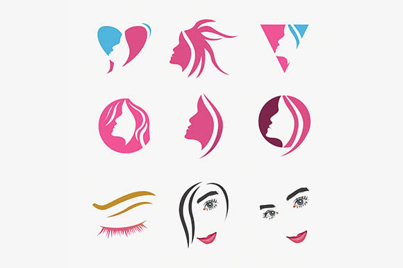 Beauty Face Care Vector Logo Graphic By Rohmar Creative Fabrica