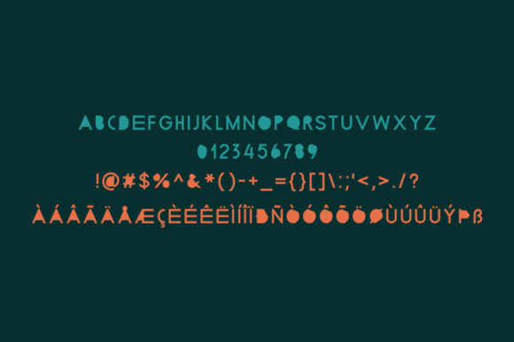 Print on Demand: Beecdor Additional Display Font By Spanking Fonts - Image 5