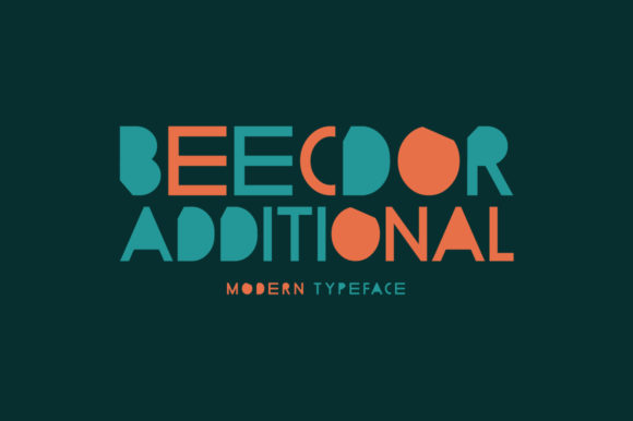 Print on Demand: Beecdor Additional Display Font By Spanking Fonts