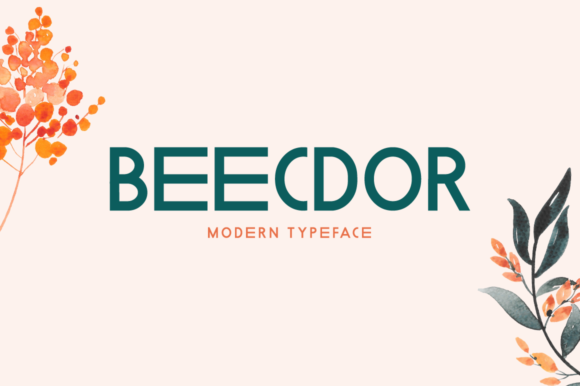 Print on Demand: Beecdor Display Font By Spanking Fonts