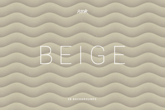 Beige Soft Abstract Wavy Backgrounds Graphic By dvtchk