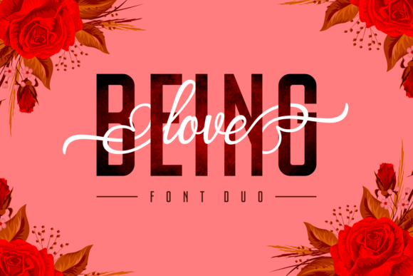 Print on Demand: Being Love Duo Script & Handwritten Font By Situjuh