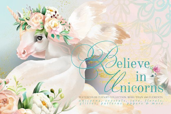 Print on Demand: Believe in Unicorns Graphic Illustrations By Anna Babich