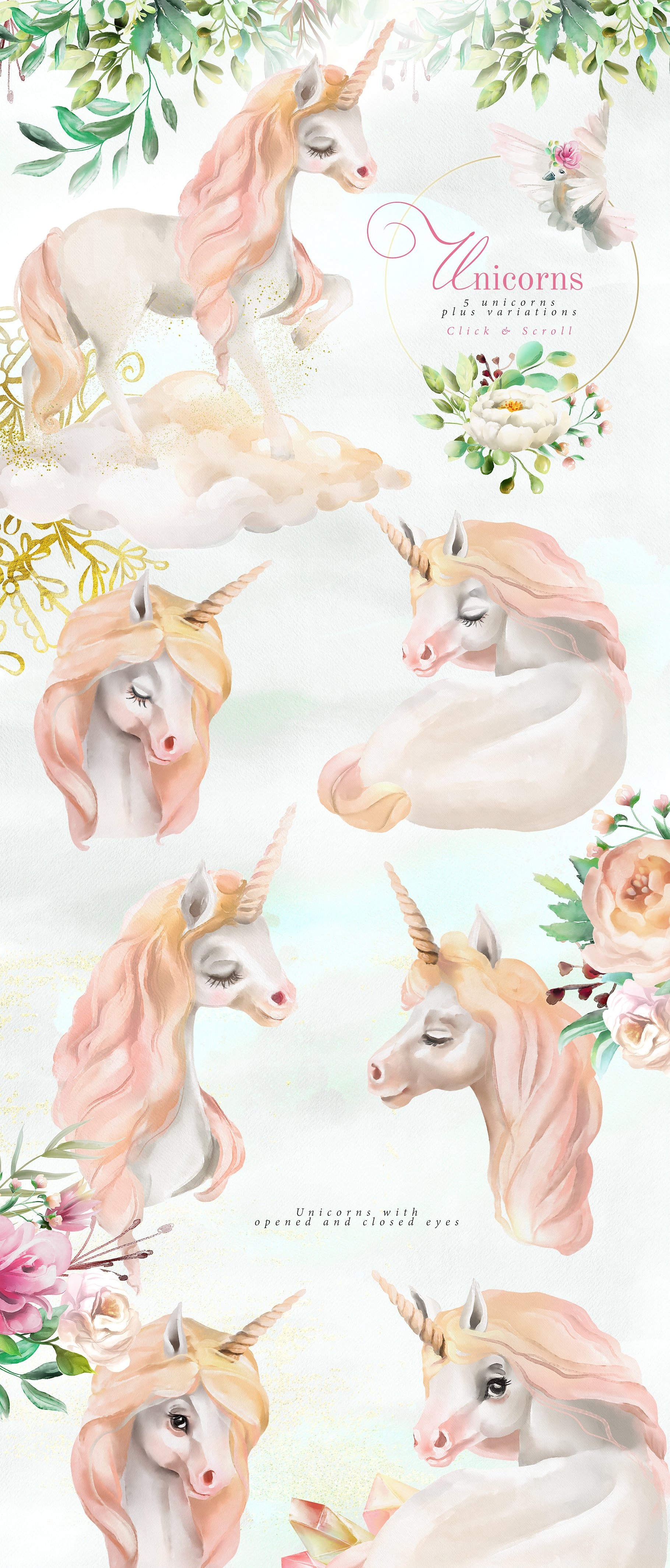 Download Free Believe In Unicorns Graphic By Anna Babich Creative Fabrica for Cricut Explore, Silhouette and other cutting machines.