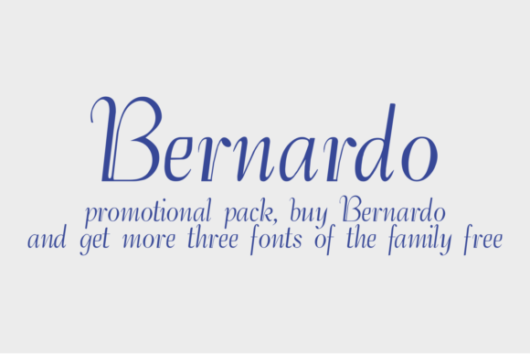 Print on Demand: Bernardo Family Display Font By Intellecta Design - Image 2