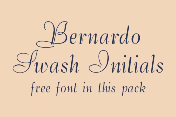 Print on Demand: Bernardo Family Display Font By Intellecta Design - Image 5