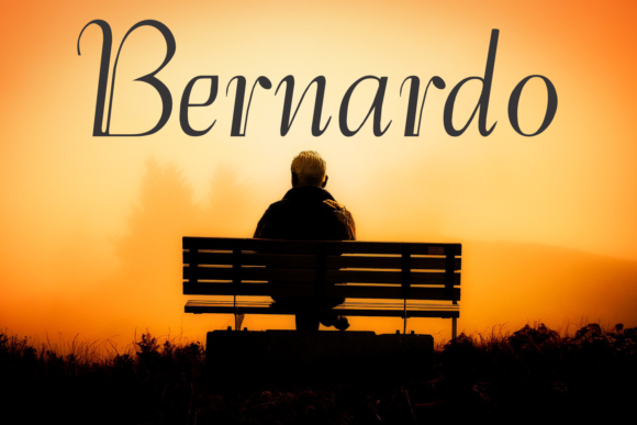 Print on Demand: Bernardo Family Display Font By Intellecta Design - Image 1