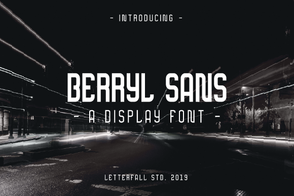 Print on Demand: Berryl Sans Family Sans Serif Font By letterfallstd