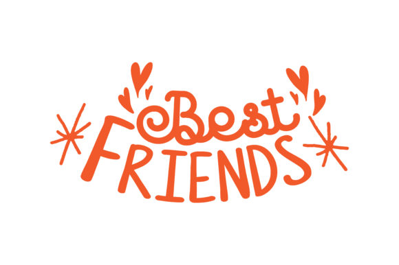 Download Free Best Freinds Quote Svg Cut Graphic By Thelucky Creative Fabrica for Cricut Explore, Silhouette and other cutting machines.
