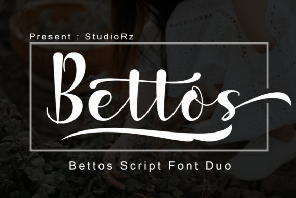 Print on Demand: Bettos Script & Handwritten Font By StudioRz - Image 1