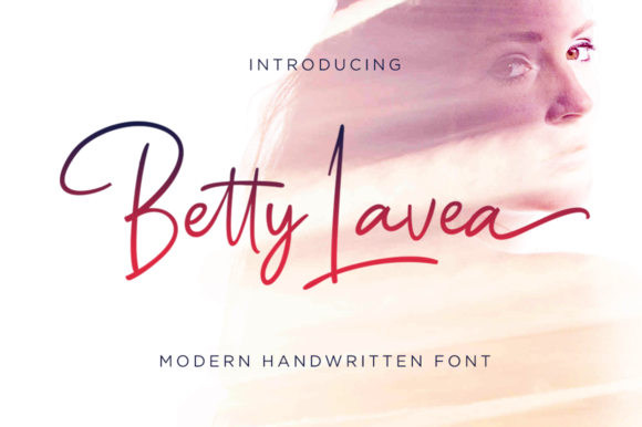 Print on Demand: Betty Lavea Script & Handwritten Font By IklazStudio