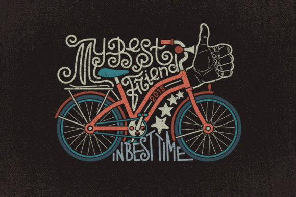 Bicycles Graphic Illustrations By Agor2012