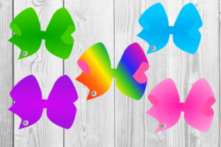 Print on Demand: Big Bright Colorful Bows Graphic Illustrations By jpjournalsandbooks