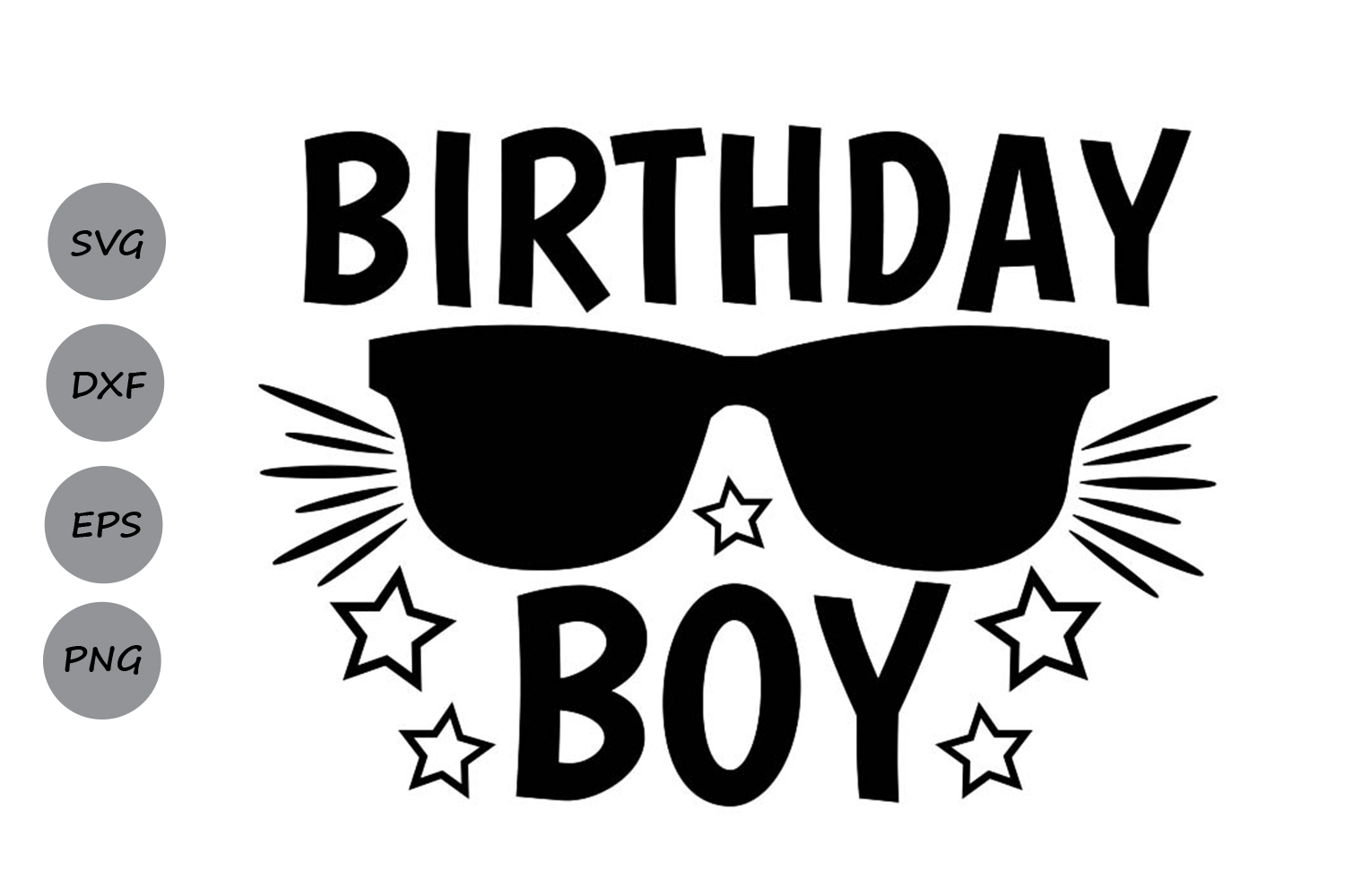 Download Free Birthday Boy Graphic By Cosmosfineart Creative Fabrica for Cricut Explore, Silhouette and other cutting machines.