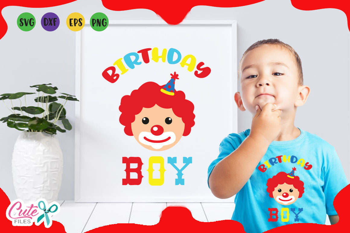 Download Free Birthday Boy Svg Graphic By Cute Files Creative Fabrica for Cricut Explore, Silhouette and other cutting machines.