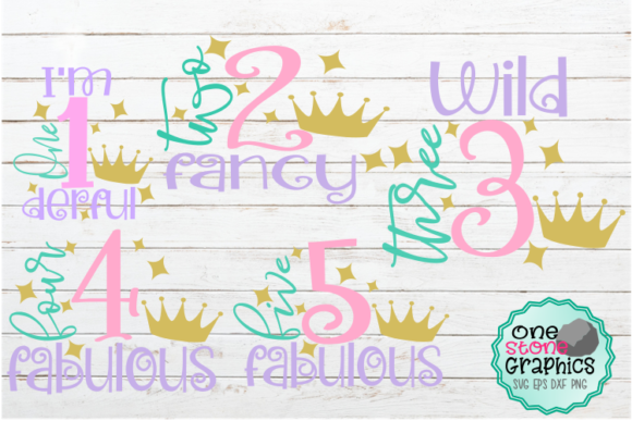 Birthday Bundle Svg Graphic By OneStoneGraphics