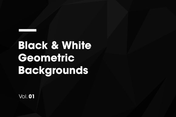 Black & White | Geometric Backgrounds Graphic Backgrounds By dvtchk