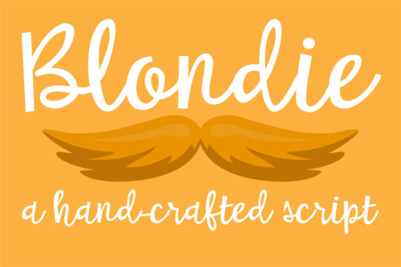Print on Demand: Blondie Script & Handwritten Font By Illustration Ink