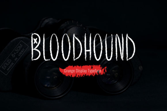 Print on Demand: Bloodhound Display Font By Spanking Fonts