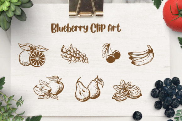 Blueberry Font By Din Studio Image 7