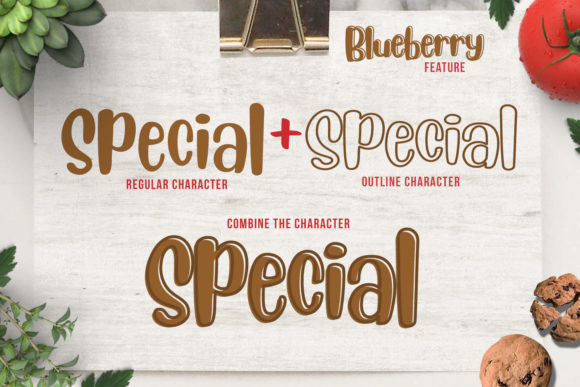 Blueberry Font By Din Studio Image 8
