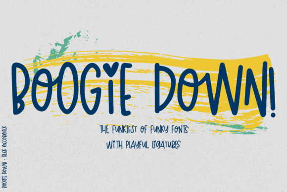 Print on Demand: Boogie Down! Script & Handwritten Font By BeckMcCormick