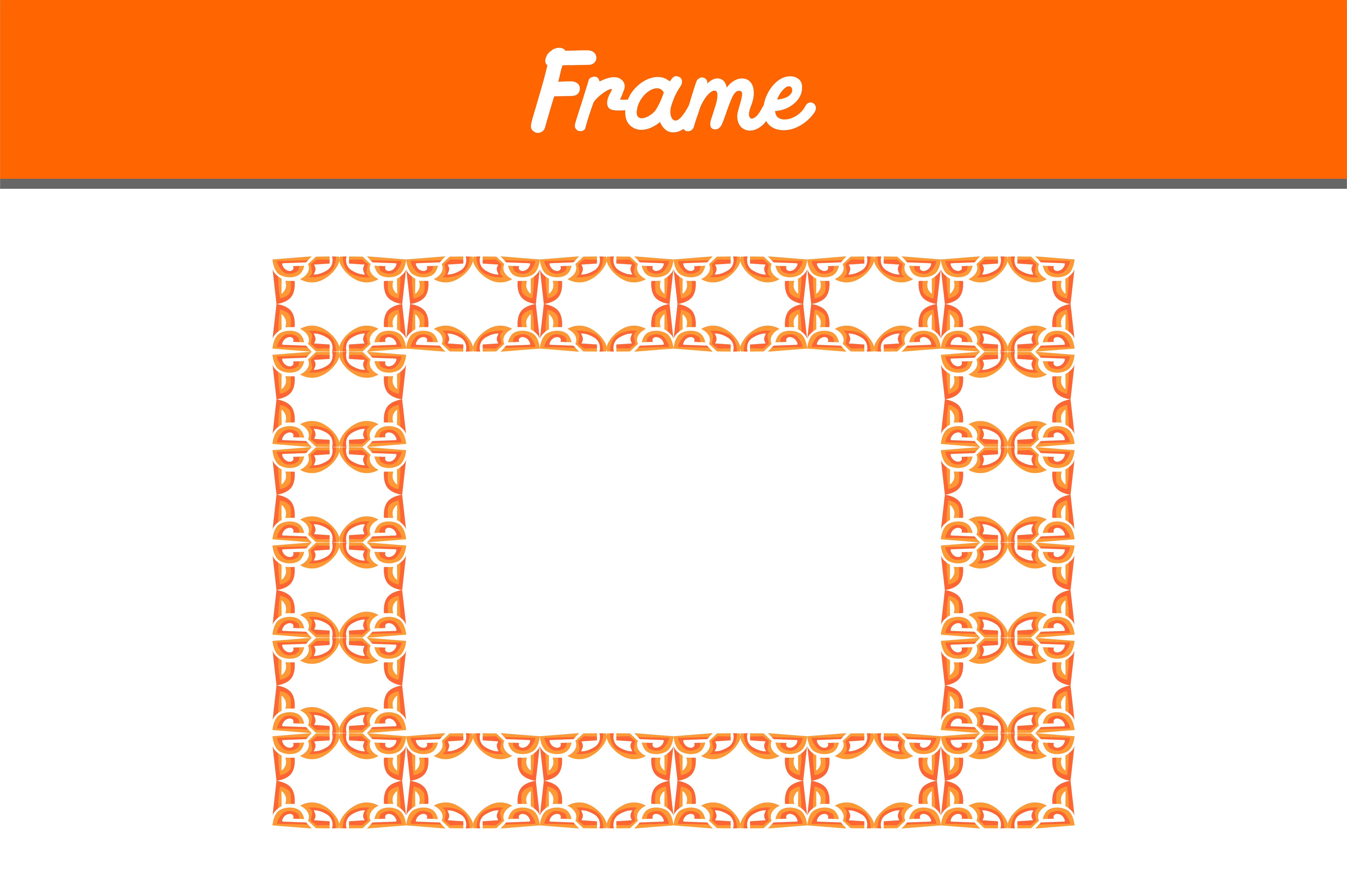 Download Free Border Frame Ornament Graphic By Arief Sapta Adjie Ii Creative for Cricut Explore, Silhouette and other cutting machines.