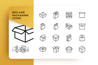 Box and Packing Icon Pack Graphic By Goodware.Std