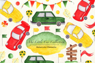 Print on Demand: Boy's Car Collection Graphic Illustrations By tanatadesign