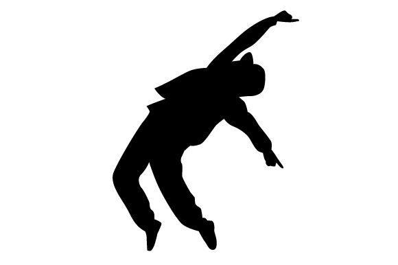 Download Free Break Dancing Silhouette Svg Cut File By Creative Fabrica Crafts for Cricut Explore, Silhouette and other cutting machines.