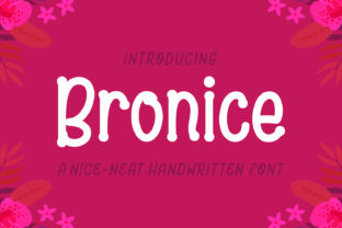Bronice Font By Adyfo (7NTypes)