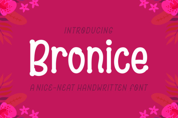 Bronice Font By Adyfo (7NTypes) Image 1