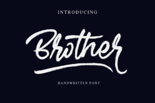 Brother Font By alphArt