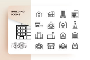 Building Icons Pack Graphic By Goodware.Std