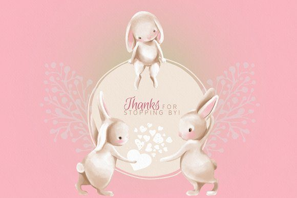 Bunnies in Love Graphic By Anna Babich Image 7
