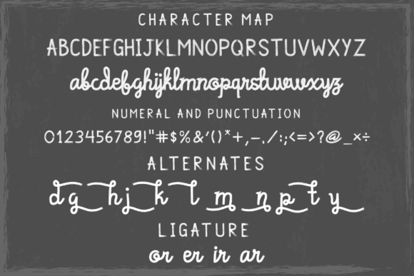 Print on Demand: Cagelar Script & Handwritten Font By blackkido597 - Image 4