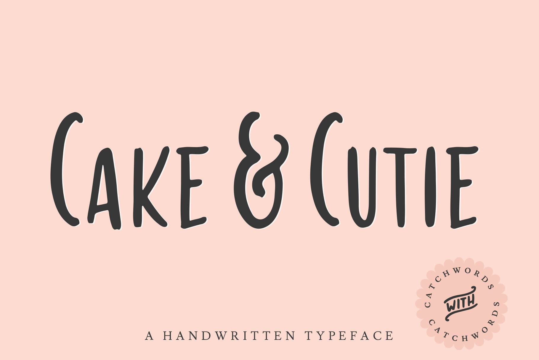 Download Free Cake Cutie Font By Ayca Atalay Creative Fabrica for Cricut Explore, Silhouette and other cutting machines.