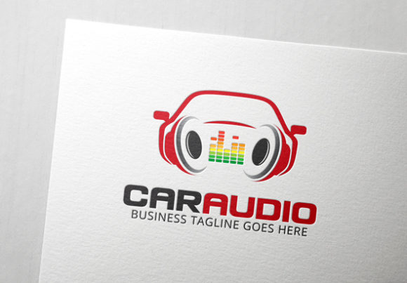 Car Audio Logo Graphic Logos By Slim Studio