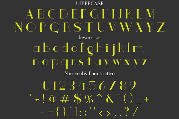 Print on Demand: Checker Serif Font By da_only_aan - Image 2