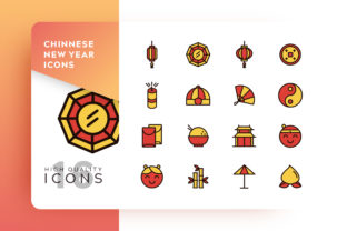 Chinese Icon Pack Graphic By Goodware.Std