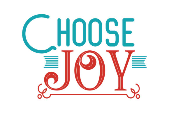 Download Free Choose Joy Quote Svg Cut Graphic By Thelucky Creative Fabrica for Cricut Explore, Silhouette and other cutting machines.