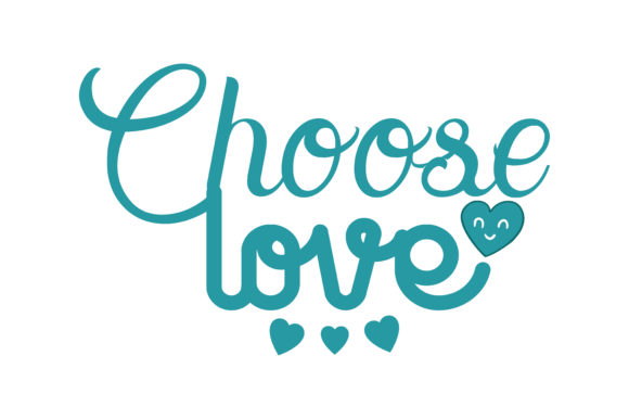 Download Free Choose Love Quote Svg Cut Grafico Por Thelucky Creative Fabrica for Cricut Explore, Silhouette and other cutting machines.