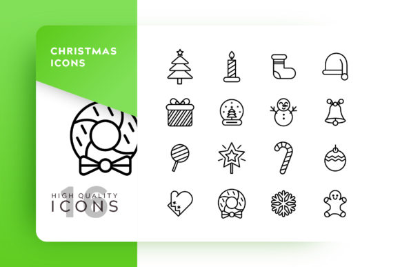 Christmas Icon Pack Graphic Icons By Goodware.Std