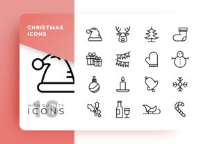 Christmas Icon Pack Graphic By Goodware.Std