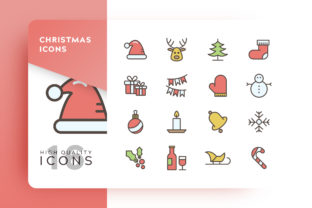 Christmas Icons Pack Graphic By Goodware.Std