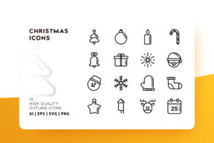 Print on Demand: Christmas Icons Graphic Icons By Goodware.Std